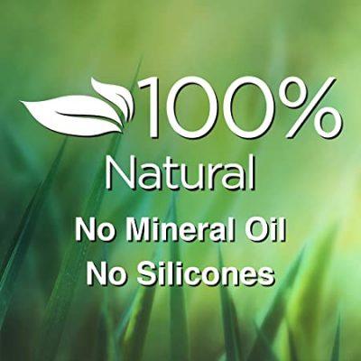 100% Natural No Silicones & Mineral Oil