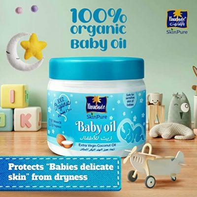 100% Organic Baby Oil