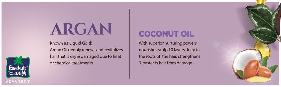 Argan & Coconut Oil