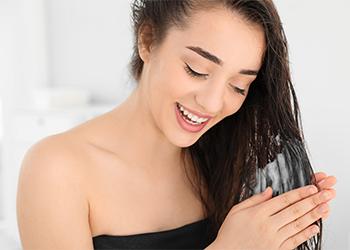 Moistening Hair