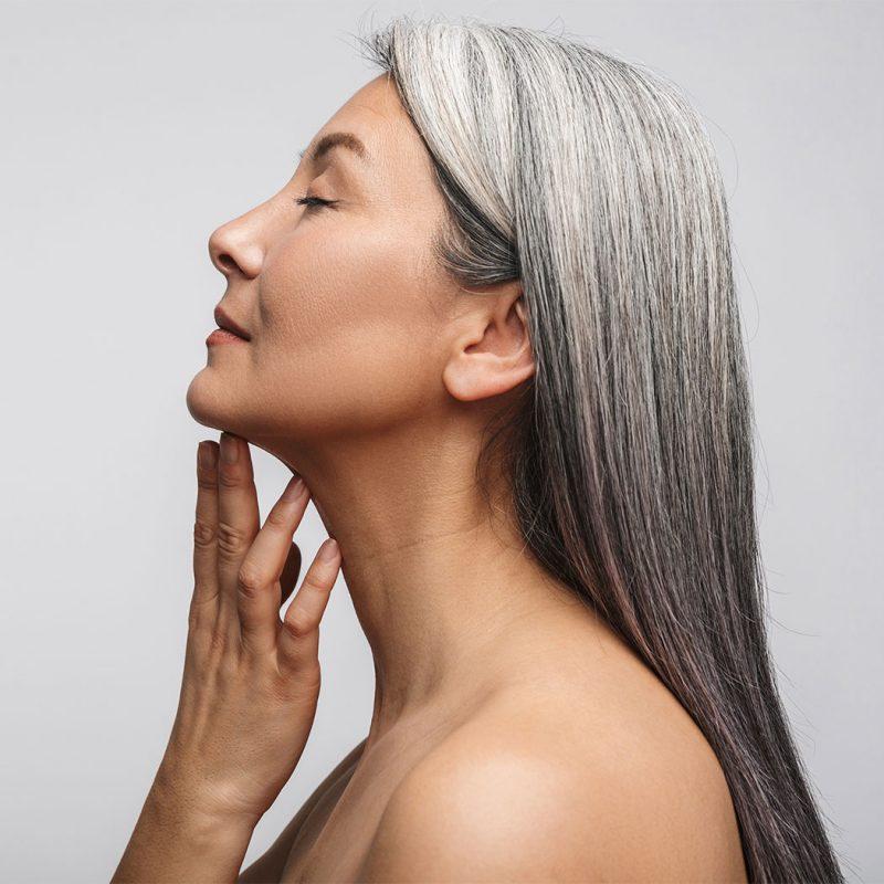 Tips for naturally Grey Hair