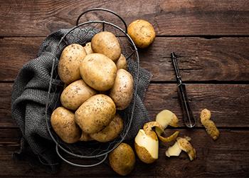 Potato Peel Rinse
